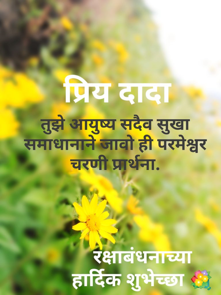 Marathi Quotes for brother